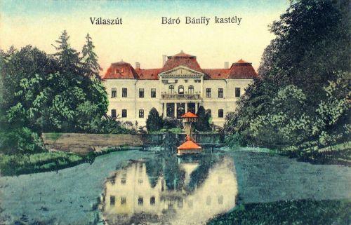 Válaszút:báró Bánffy kastély.1912