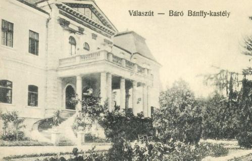 Válaszút:báró Bánffy kastély,1915.