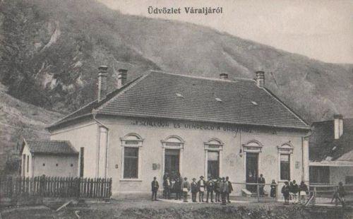 Váralja:szálloda és vendéglő a vasúthoz.1912