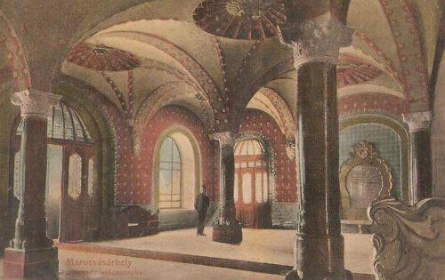 Marosvásárhely,városháza előcsarnoka. 1915