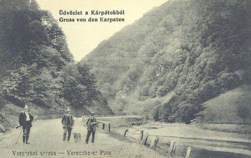 Vereckei szoros:vadászok.1912