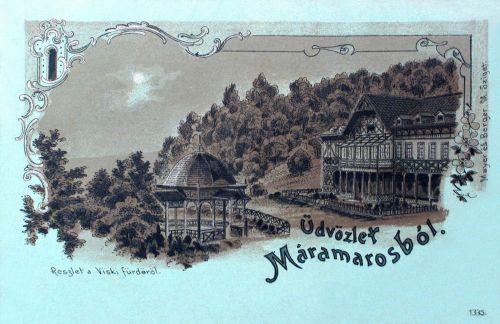 Máramaros:Viski-fürdő. 1899