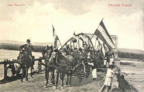 Visk:Dudits Endre képviselő választási kampánya.1910