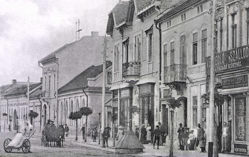 Evangélikus templom,Agrár Bank,Szálloda és Vendéglő,1905.