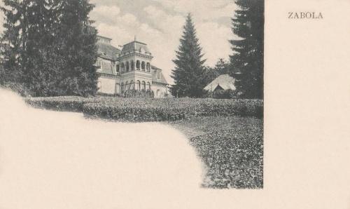 Zabola:Mikes kastély.1905