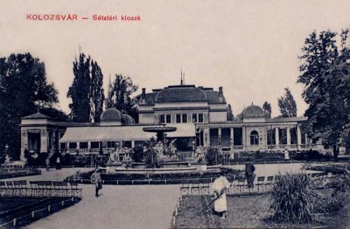Kolozsvár:sétatéri kioszk.1909