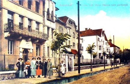 Kolozsvár:Rákóczi kerti villák.1915