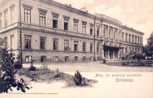 Kolozsvár:Gazdasági Tanintézet.1903