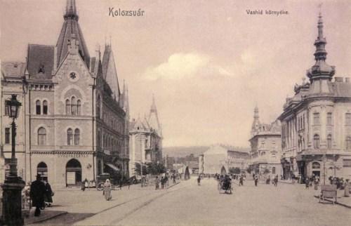 Kolozsvár:vashid környéke.1907