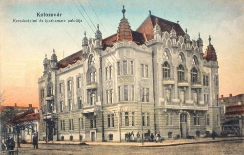 Kolozsvár:Kereskedelmi és Iparkamara.1915
