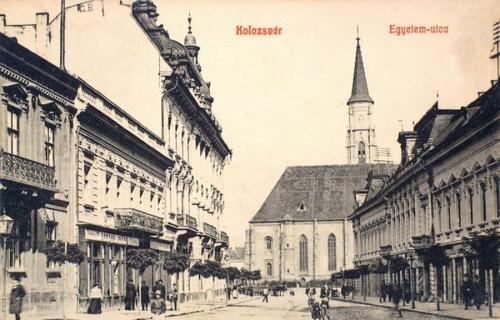 Kolozsvár:Egyetem utca.1908