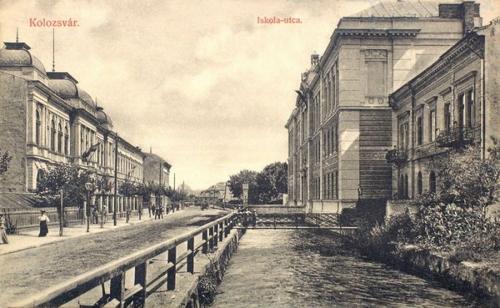 Kolozsvár:Iskola utca.1909