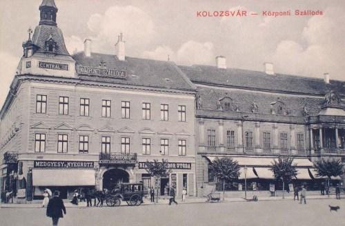 Kolozsvár:Központi szálloda.1908