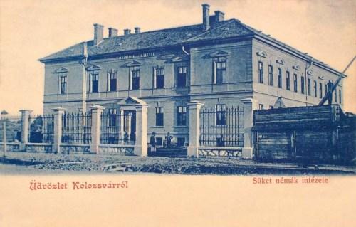 Kolozsvár:süket némák intézete.1902