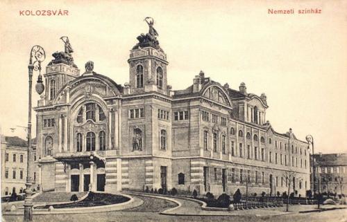 Kolozsvár:Nemzeti Szinház.1910