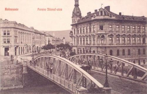Kolozsvár:Ferencz József utca.1909