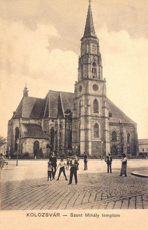 Kolozsvár:Szent Mihály templom.1904