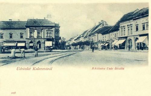 Kolozsvár:Unio utca.1901