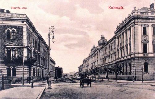 Kolozsvár:Honvéd utca.1909