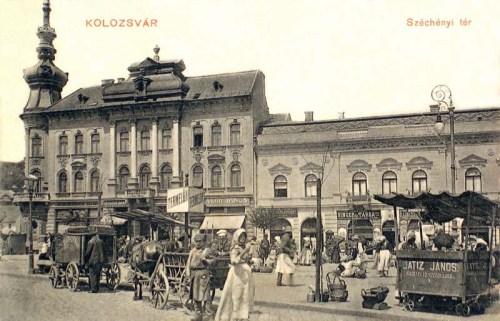 Kolozsvár:Széchenyi tér.1910