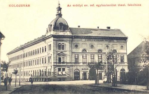 Kolozsvár:Erdélyi református egyházkerület teologiai fakultása.1910