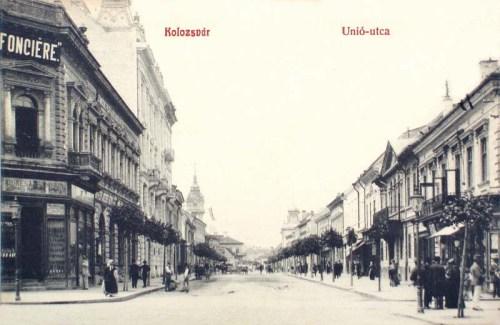Kolozsvár:Unió utca.1909
