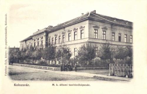 Kolozsvár:Állami Tanitóképző.1902