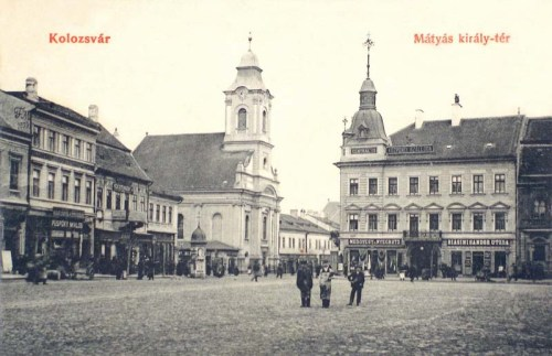 Kolozsvár:Mátyás király tér.1909