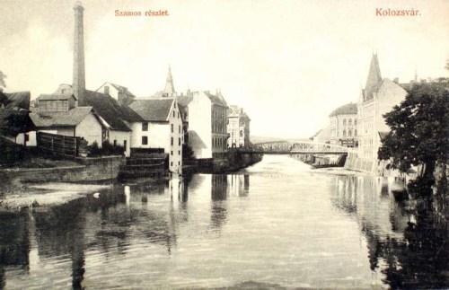 Kolozsvár:Szamos részlet.1912
