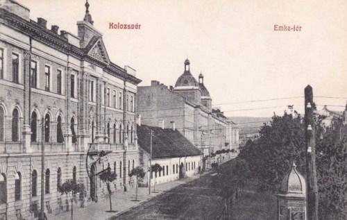 Kolozsvár:EMKE tér.1909