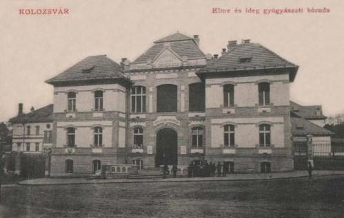 Kolozsvár:Elme és Ideg Gyógyászati kóroda.1912