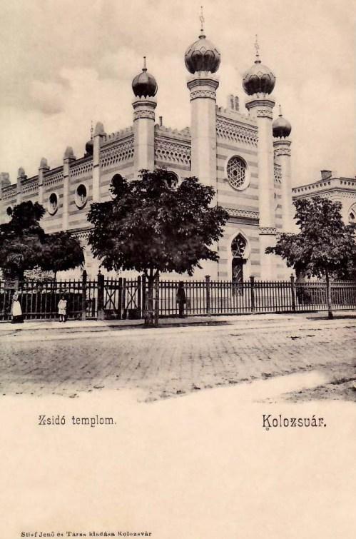 Kolozsvár:zsinagóga.1902