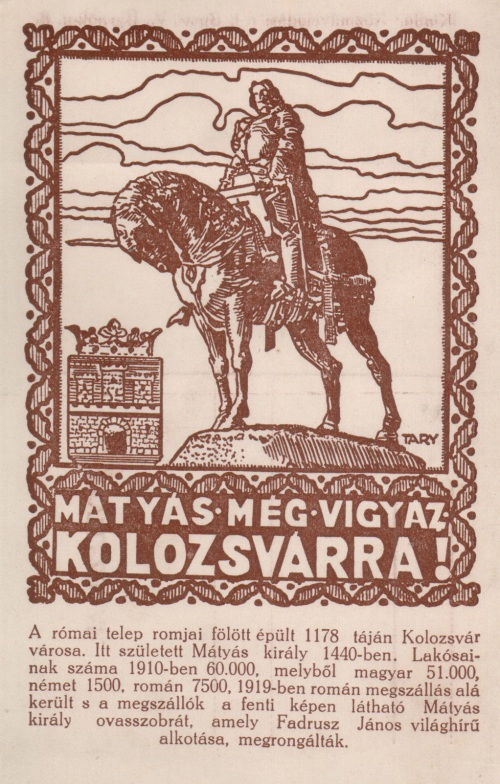 Kolozsvár:irredenta.1920