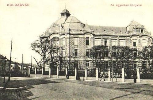 Kolozsvár:Egyetemi könytár.19.1910
