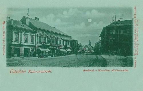 Kolozsvár:Wesselényi Miklós utca.1899