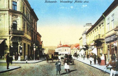 Kolozsvár:Wesselényi Miklós utca.1916