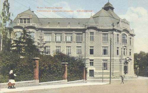 Kolozsvár:Magyar Királyi Ferencz József Tudomány Egyetem könyvtára.1913