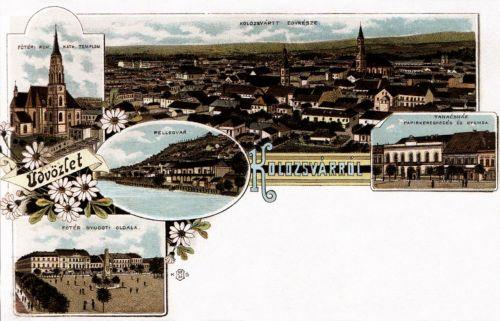 Kolozsvár,kőnyomat .1895
