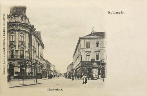 Kolozsvár:Jókai utca.1903