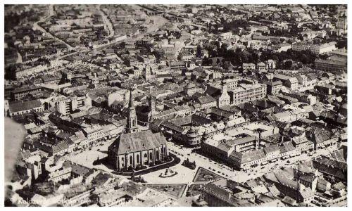 Kolozsvár:látkép repülőből.1942