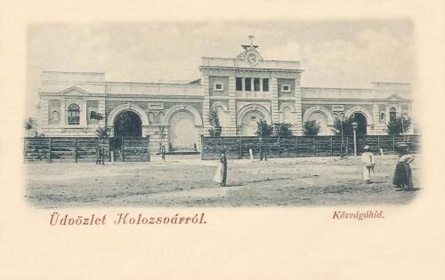 Kolozsvár:Közvágóhid.1902