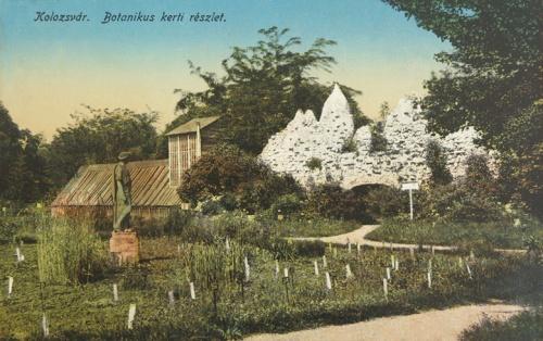 Kolozsvár:botanikus kert.1916