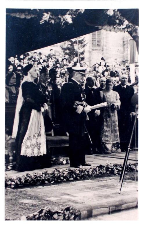 Kolozsvár:Horthy Miklós és felesége.1940