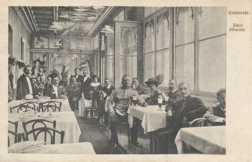 Kolozsvár,Rácz étterem 1912