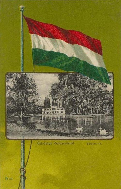 Kolozsvár,sétatéri tó 1901