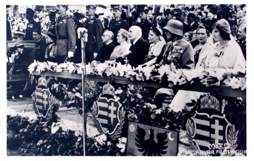 Kolozsvár:diszvendégek.1940