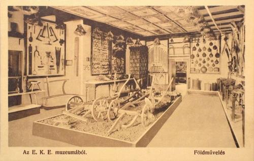 Kolozsvár:Erdélyi Kárpát Egyesület: Múzeuma,Földművelés.1912