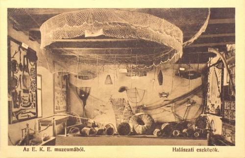 Kolozsvár:E.K.E Múzeum,halászati eszközök.1912