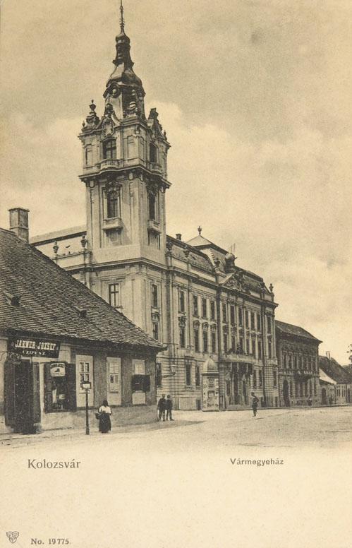 Kolozsvár:Vármegyeháza.1903