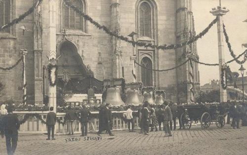 Kolozsvár:harang szentelési ünnepség.1924
